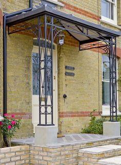 Wrought Iron Porch Columns Google Search Cottage