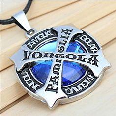 z&moda x® (pandantiv cruce) stras albastru cu argintiu d... – EUR € 4.94