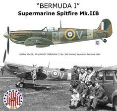 """Bermunda i"" Spitfire Mk .IIB"
