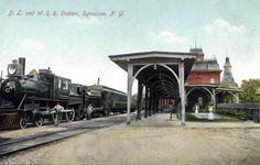 1906 DELWARE LACKWANNA TRAIN