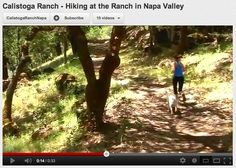 Hiking at Calistoga Ranch!  http://www.youtube.com/watch?v=-HEv6EjckDg=bf_next=PLEC350B6386C524C1