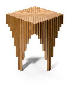 Tisch, Beistelltisch: HolzX Design: Orterfinder