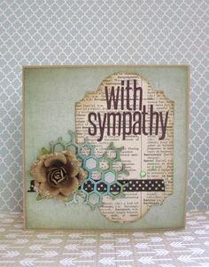 sympathy card - Scrapbook.com