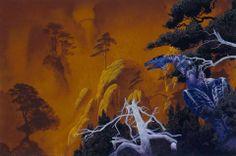 Roger Dean -- Forest Dragon