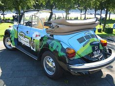 Ben & Jerry's VW Beetle by flexib0y, via Flickr