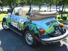 Ben & Jerry's VW Beetle by flexib0y, via Flickr