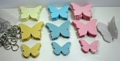 butterfly post-it notes using Big Shot or other die cut machine