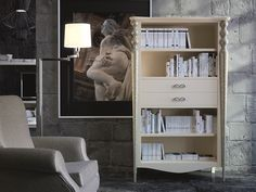Étagère bibliothèque. Mod: PA9720 Decoration, Nightstand, Bookcase, Shelves, Table, Furniture, Home Decor, Nesting Tables, Shoe Bench