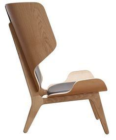 Mammoth Armchair Slim is a classic of Scandinavian design created by Knut Bendik.