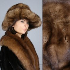 Gorgeous Silky and Soft Genuine Russian Sable Fur Hat | eBay