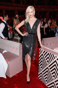 Karlie Kloss in Versace.