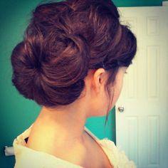 Apostolic pentecostal hairstyle.