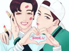 taehyung   vkook ♡ taekook   jungkook • bts's photos