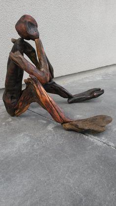 Driftwood Art, Garden Art, Yard Art