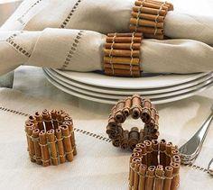 lindo porta guardanapo, uma ótima ideia para casamentos, ou um jantar especial! Além do mais são aromáticos...