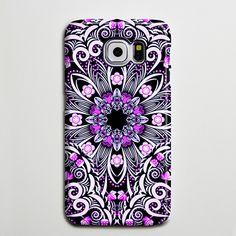 Native Purple Floral Flowers iPhone 6 Case Galaxy s6 Edge Plus Case Galaxy s6 Case Samsung Galaxy Note 5 Case s6-047