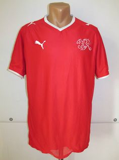 Switzerland 2008 2009 2010 home football shirt by Puma Euro WorldCup soccer  jersey NationalTeam 46208662e