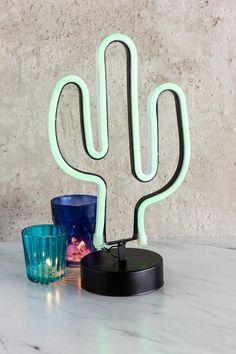 Cactus Neon Light $38. Francesca's.