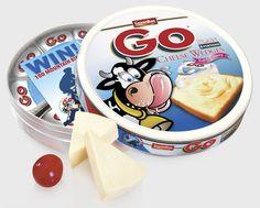 Go Cheese Wedges : Packaging by Julian Micheal, via Behance