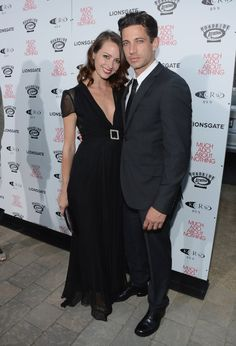 'Much Ado About Nothing' Hollywood Screening  Amy Acker and James C