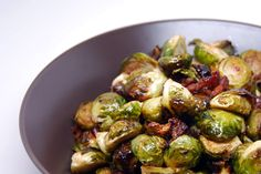 Roasted Brussels Sprouts and Bacon | Award-Winning Paleo Recipes | Nom Nom Paleo