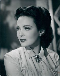 Linda Darnell- 1923/1965  /Great actress especially in A Letter To Three Wives but a very sad woman who died a horrible death in a house fire.