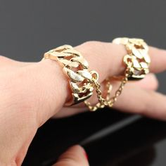 PWB3144 - Chain Ring - $10.99 : Shop Trendy Jewelry and Accessories, Peeny Wallie Boutique