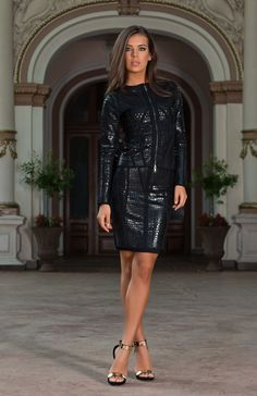 The Alvada black bodycon skirt suit is the perfect outfit for adding a touch of… Ootd, Skirt Suit, Dress Skirt, High Waisted Pencil Skirt, Body Con Skirt, Night Looks, Street Chic, Classic Looks, Sexy Outfits