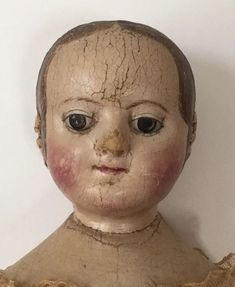 This is one of America's earliest cloth dolls made by Izannah Walker of Pawtucket, Rhode Island. I have owned and loved this wonderful doll for around 15 years. She is in very good condition with the usual craquelure that you would see on an oil painting. | eBay!