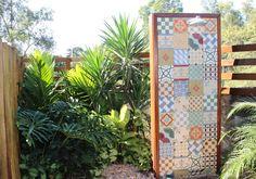 ladrilho hidraulico jardim chuveiro - Pesquisa Google