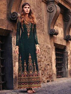 robe hippie chic, une boho mode unique