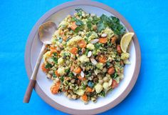 Morrocan Cauliflower and Chickpeas Salad