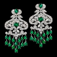 """#ORLOV  #jewelry  #Monaco - """"Green was the colour of Venus, the Roman goddess of beauty and love, so the emerald was her gemstone. """""""