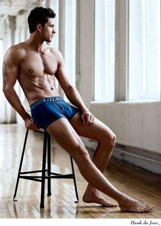 Adam Senn - Hunk du Jour | #underwear #guys #model