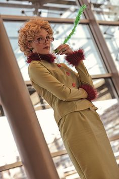 Rita Skeeter from Harry Potter.