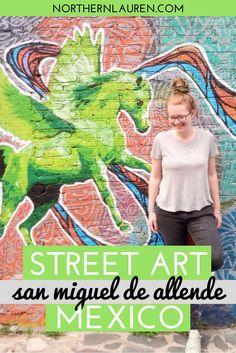 Street Art in San Miguel de Allende Mexico