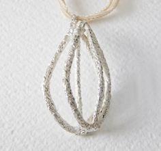 nao – naoko iyoda - jewellery - metal carving creations - gioielli - schmuck, stein 09/ pendant, silver 2014