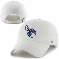 f63912dfccb  47 Brand Charlotte Hornets Clean Up Adjustable Hat - White