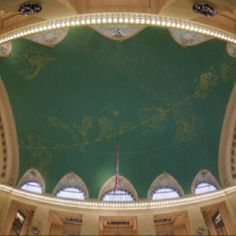 The ceiling of Grand Central Station. I miss this place, and all the art and culture of New York City.