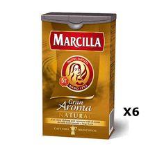 Bestelling Koffie grond natuurlijk 250 Grs - Marcilla