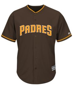best service 258c1 a573a Majestic Men s San Diego Padres Blank Replica Cool Base Jersey - Brown M