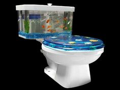 Fish Tank Decor Ideas With Toilet Design ~ Http://monpts.com/