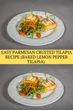 Parmesan Crusted Tilapia (Baked Lemon Pepper Tilapia) is one of the BEST Tilapia Recipes we have ever tasted. This baked tilapia recipe is as healthful as it's far scrumptious, and it is SUPER EASY as well! This Lemon Pepper Tilapia Recipe is so flavorful and made in under 20 minutes. Best Easy Tilapia Recipe!