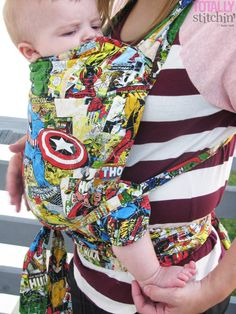 Totally Stitchin': McCall's Baby Carrier Pattern Hack
