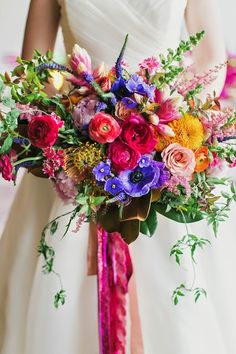Spring 2015 Wedding Bouquet Inspiration...