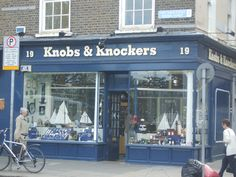 Knobs & Knockers in Dublin. What a great name for a hardware store. Great Names, Cool Names, Knobs And Knockers, Ireland Travel, Brighten Your Day, Northern Ireland, Beautiful Landscapes, Dublin, City
