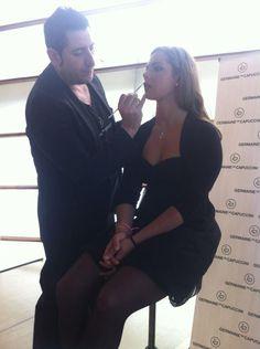 Make-up master class with Jose Ramón