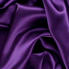 Majesty Purple Stretch Silk Charmeuse Fabric by the Yard | Mood Fabrics