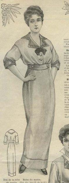 June 1914 afternoon dress