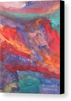 Untitled 95 Original Painting Canvas Print / Canvas Art by Iyanuoluwa Adeshina Canvas Art, Canvas Prints, Canvas Material, Original Paintings, Fine Art, The Originals, Color, Colour, Photo Canvas Prints